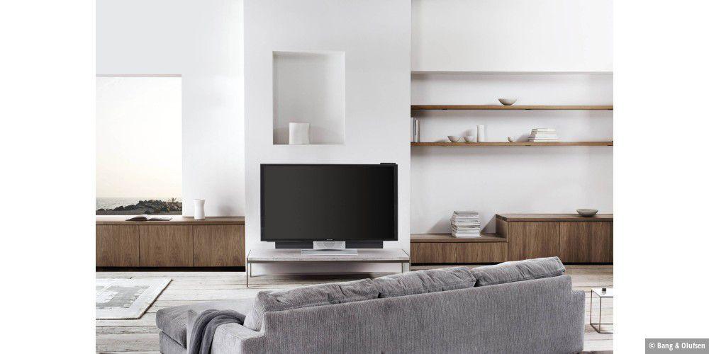 4k fernseher der luxusklasse von bang olufsen macwelt. Black Bedroom Furniture Sets. Home Design Ideas