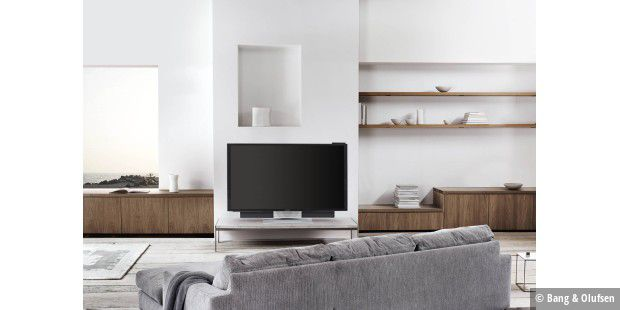 4k fernseher der luxusklasse von bang olufsen macwelt. Black Bedroom Furniture Sets. Home Design Ideas