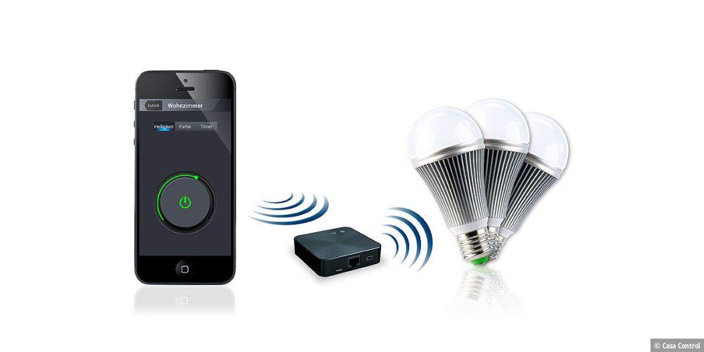 casa control im test led licht per iphone steuern macwelt. Black Bedroom Furniture Sets. Home Design Ideas