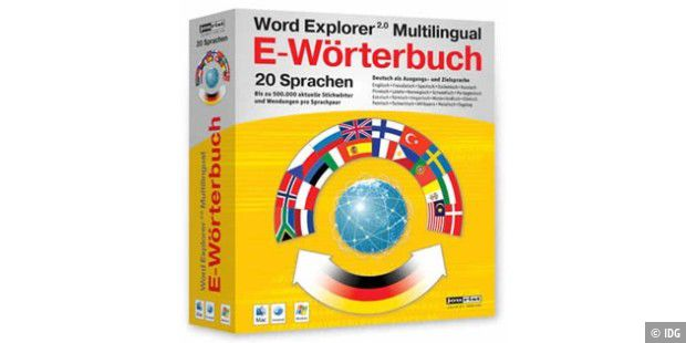 Word Explorer Multilingual E-Wörterbuch