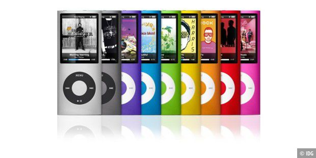 iPod Nano in bunt