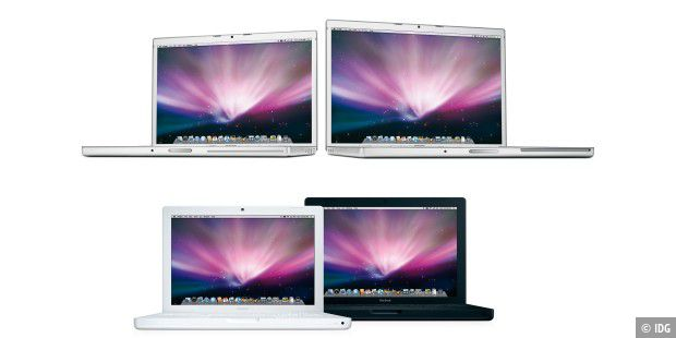 Macbook und Macbook Pro Februar 2008