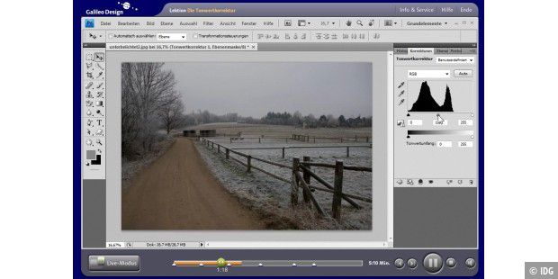 Galileo: Videolektionen Photoshop CS4