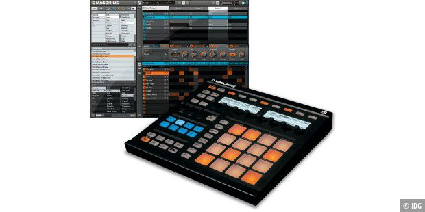 Musik mit Maschine: Native Instrument bringt Groove Production Studio auf den Markt.