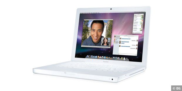 Macbook 2 GHz Weiss NVIDIA