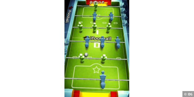 iFoosball, iPhone App