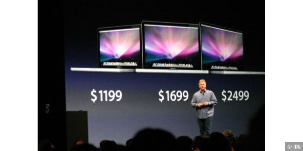 WWDC 2009, neue Macbook Pro: macbookfamily