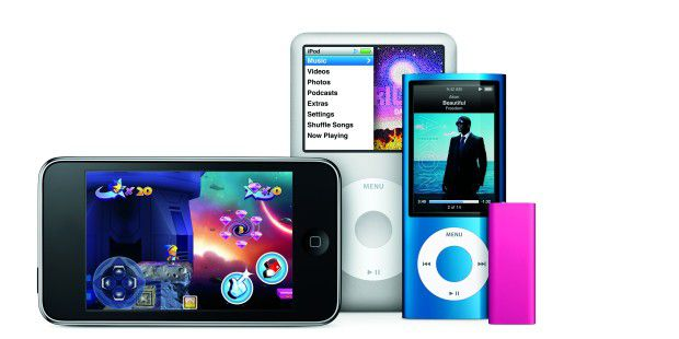 iPod Familie 2009