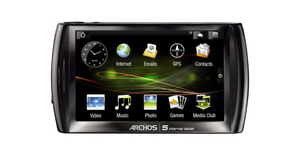 Archos 5 Internet Tablet Android