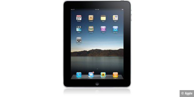 iPad home_screen
