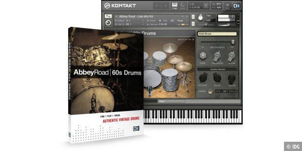 Trommeln wie die Beatles in den 60ern: Abbey Road 60s Drums von Native Instruments