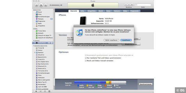 Neues Iphone Einrichten Software Update