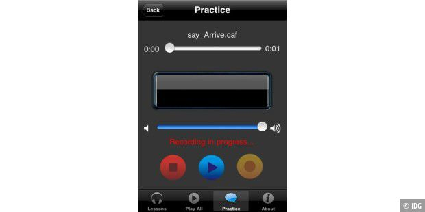 British Accent iPhone App