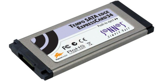 Sonnet Tempo SATA Edge Express Card/34