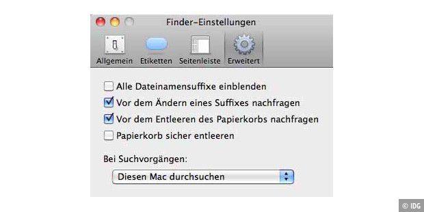 Sichere Löschung auf macOS Anchor Link