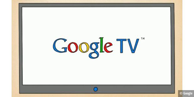 Google TV Comic Logo