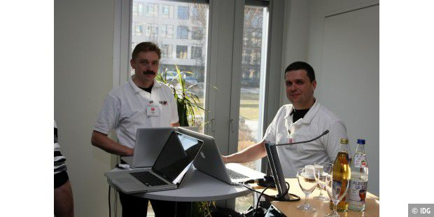 Die Referenten der Making Apps Developer Days: Olaf Monien, Daniel Magin