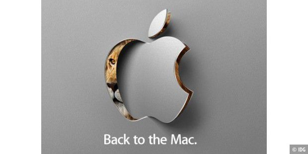 Back to the Mac Special Event Oktober 2010