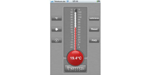 Thermos - Thermometer-App im Test - Macwelt
