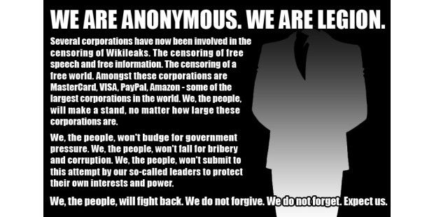 Anonymous - Operation Payback