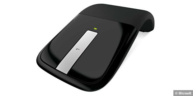 test microsoft arc touch mouse macwelt. Black Bedroom Furniture Sets. Home Design Ideas