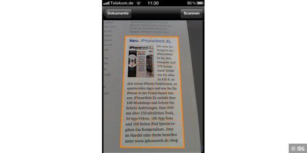 Dokumente Mit Dem Iphone Erfassen Macwelt