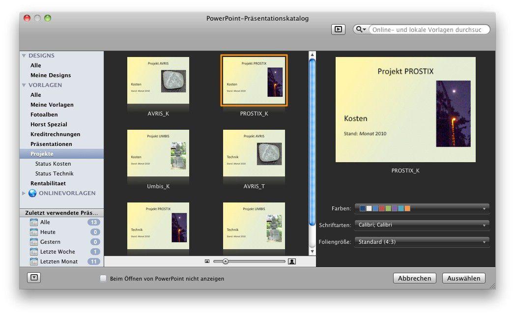 Praxis-Tipps zu Powerpoint 2011 - Macwelt