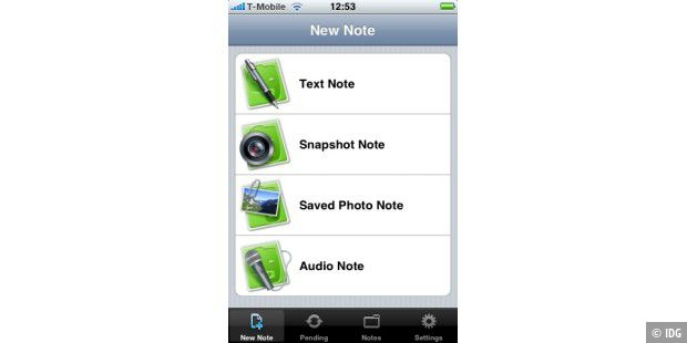 iPhone Software: Evernote