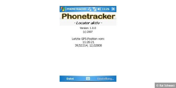 Phonetracker Locator