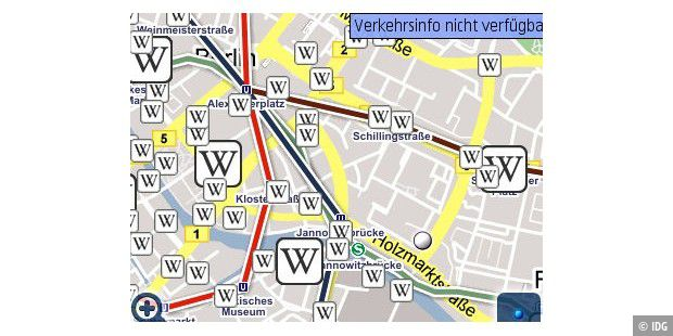 Neue Google Maps für iPhone, Symbian und Windows Mobile