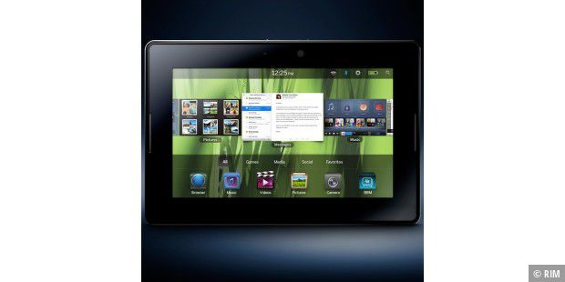 Apple-Alternative?: In den USA wird das Blackberry Playbook bereits verkauft.