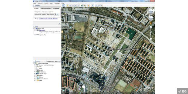Google Earth 6 Screenshot PNG