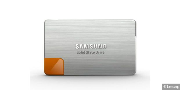 Samsung SSD Serie 470 frontal