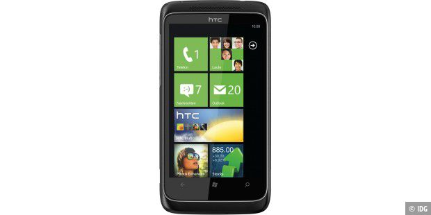 HTC Trophy Windows 7 Phone
