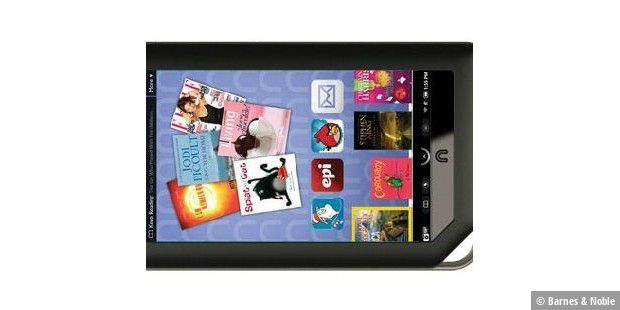 Nook Color Barnes & Noble E-Reader E-Book-Reader quker