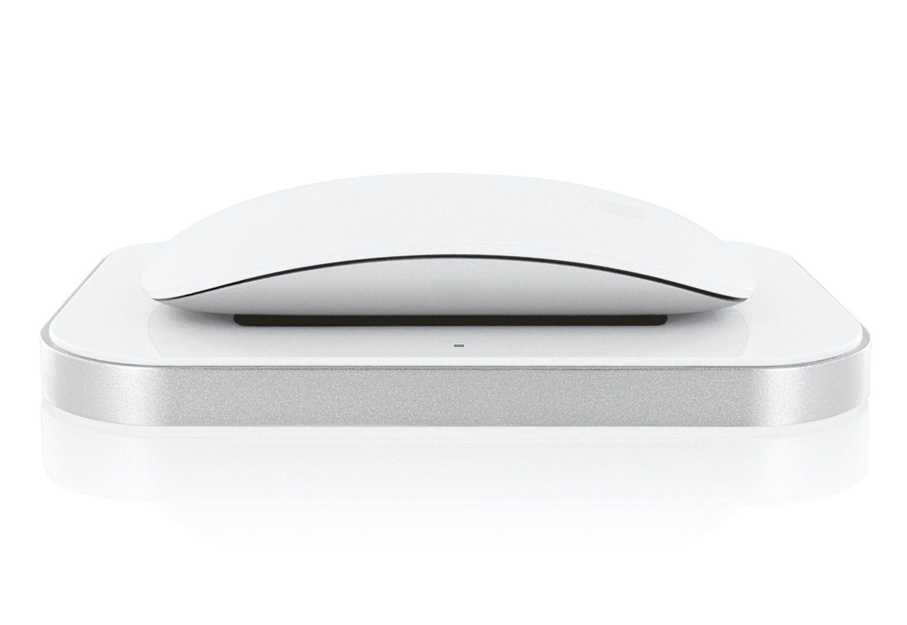 test induction charger f r apple magic mouse macwelt. Black Bedroom Furniture Sets. Home Design Ideas