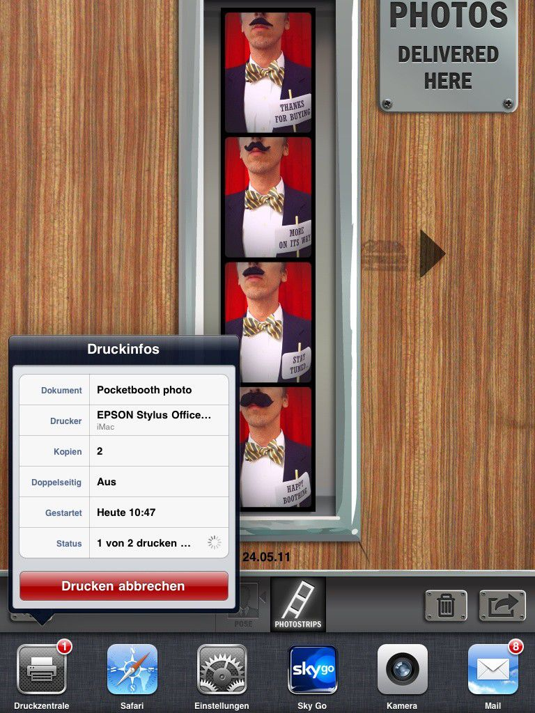 airprint auftr ge am ipad steuern macwelt. Black Bedroom Furniture Sets. Home Design Ideas