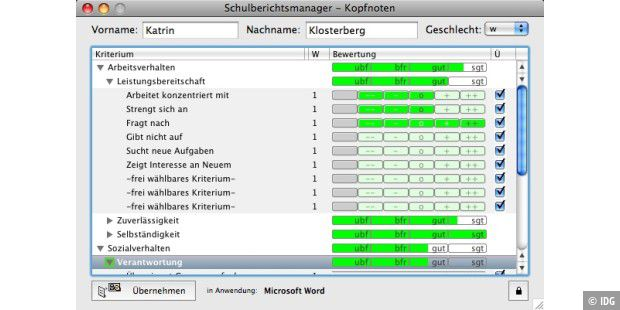 Schulberichtsmanager 11