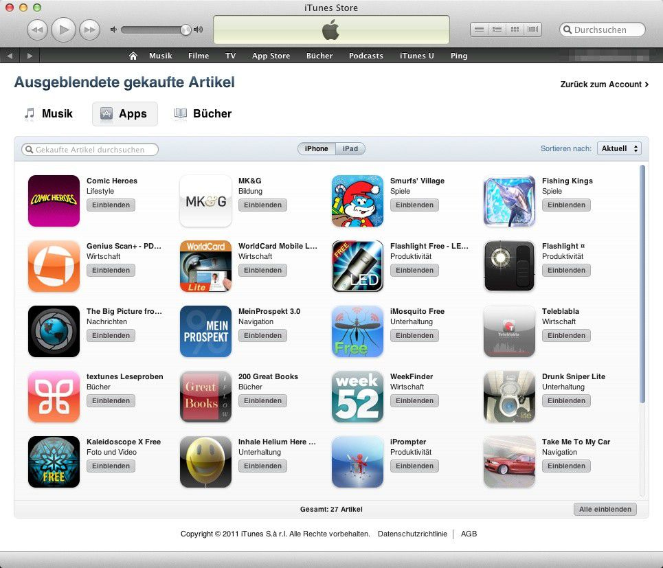 how to change itunes store account