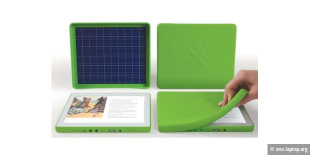 OLPC stellt 100-Dollar-Tablet-PC vor (c) one.laptop.org