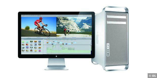 Mac Pro 2010 mit Cinema Display