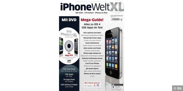 Titelbild iPhoneWelt XL 01/2011