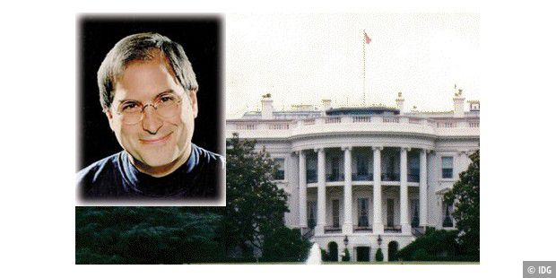 Steve Jobs Whitehouse