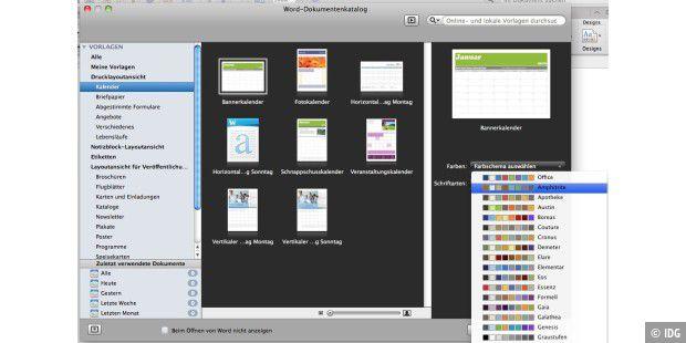Neue Word Vorlagen Verwenden Und Anpassen Macwelt