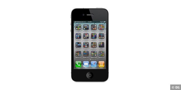 iPhone4_Viele_Apps