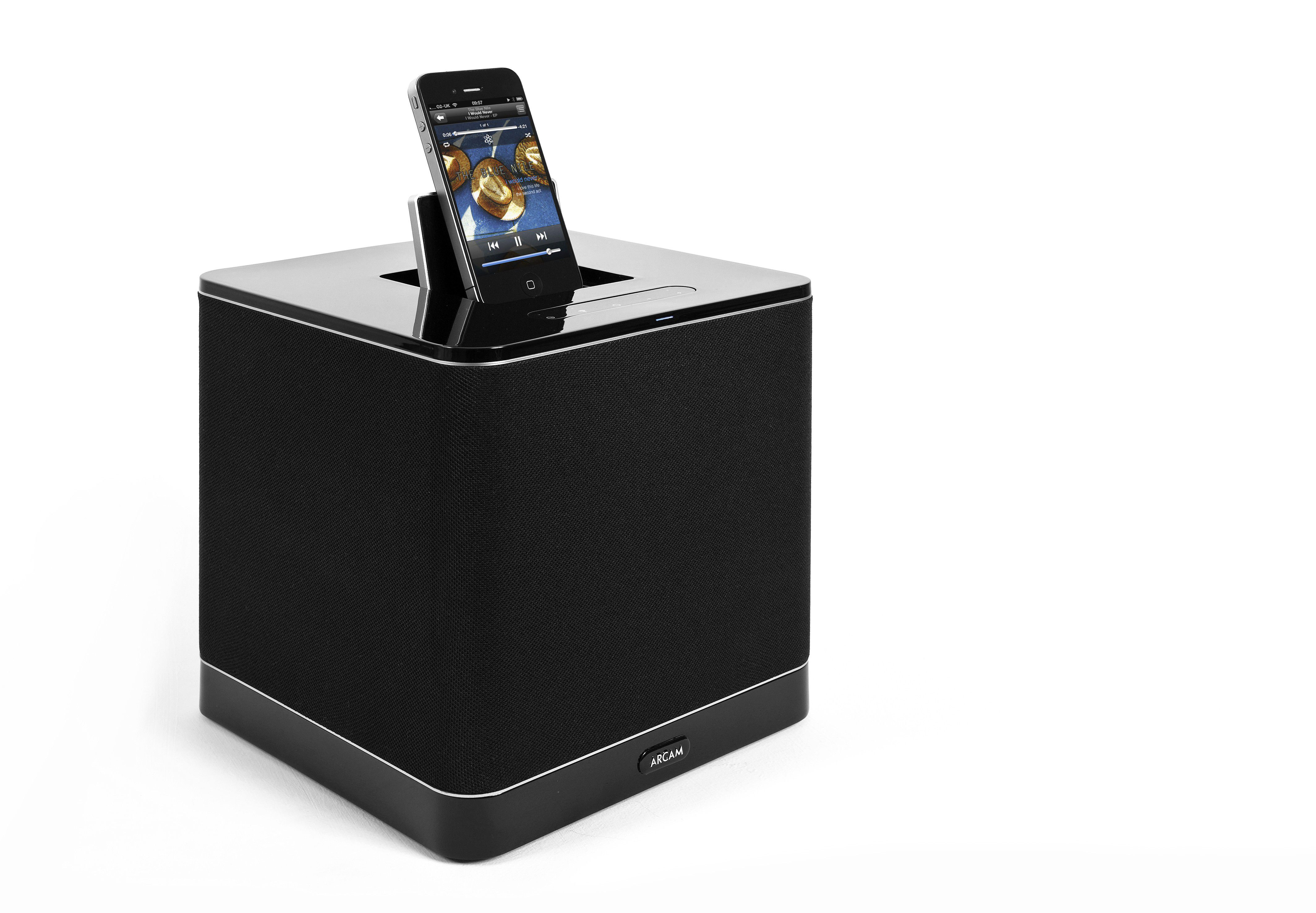 test ipod lautsprecher arcam rcube macwelt. Black Bedroom Furniture Sets. Home Design Ideas