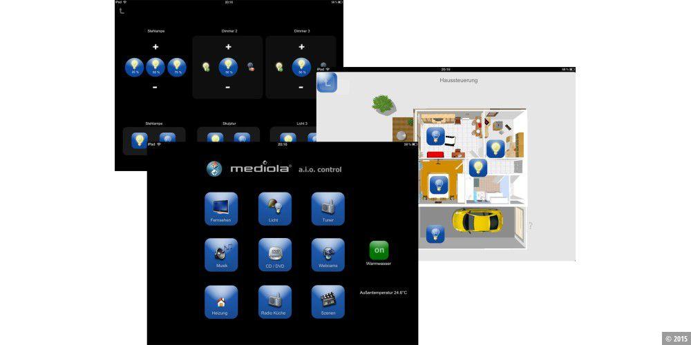 der ipad als steuerung die besten apps macwelt. Black Bedroom Furniture Sets. Home Design Ideas