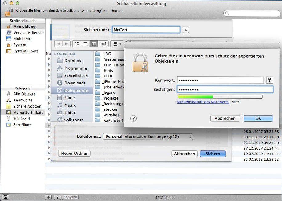 Zertifikat am Rechner und iPad installieren - Macwelt