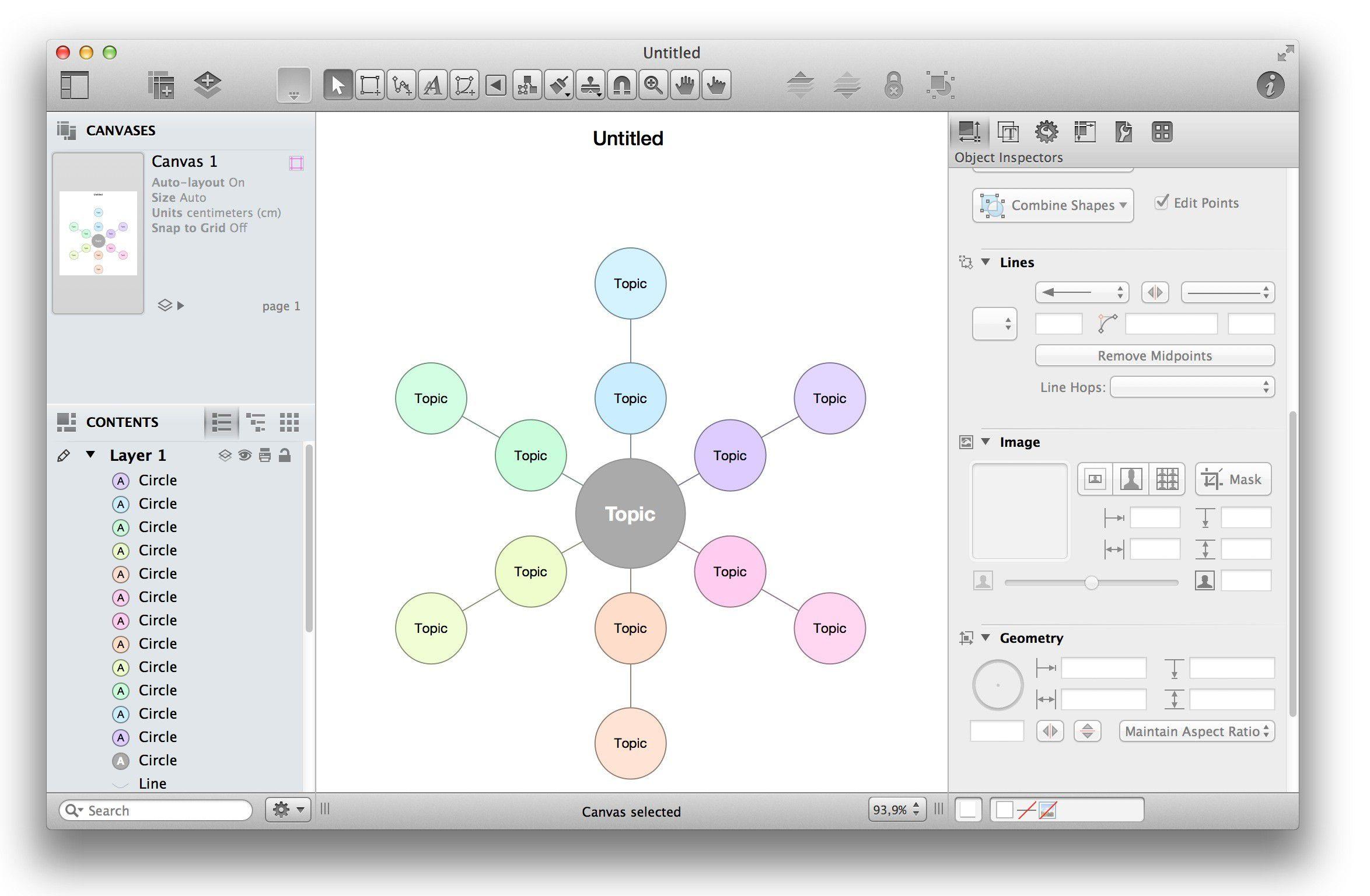 Test Omni Graffle 6 Professional - Macwelt