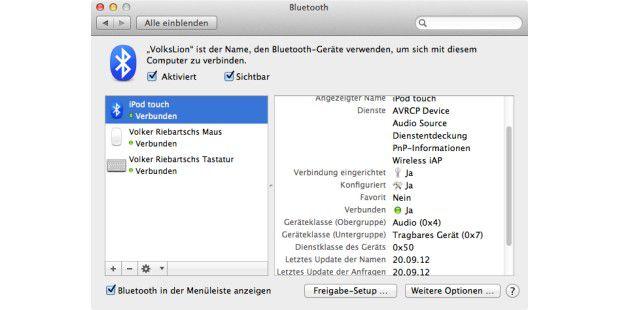 Die problemlose Verbindung funktioniert am besten, wenn Mac seine IP-Adresse per DHCP bezieht.